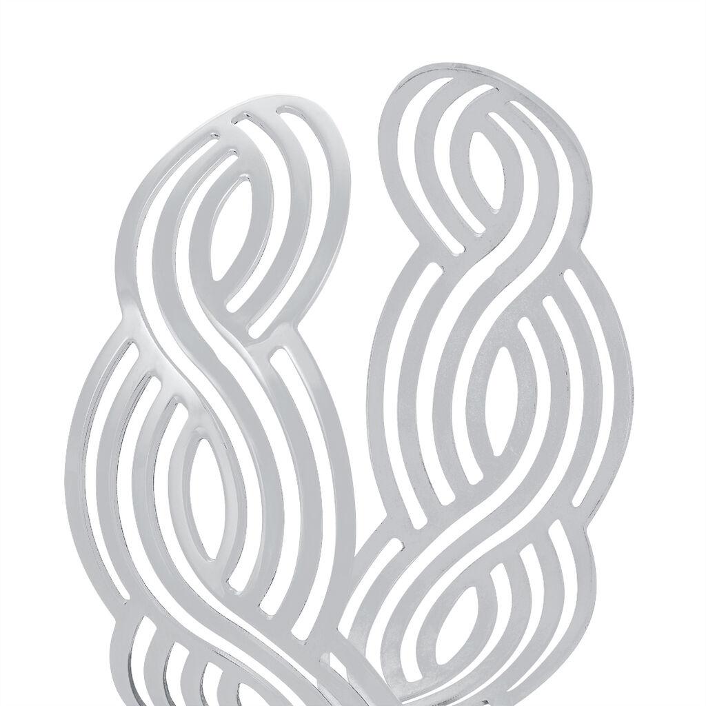 Bracelet Jonc Tressia Argent Blanc - Bracelets joncs Femme | Histoire d'Or