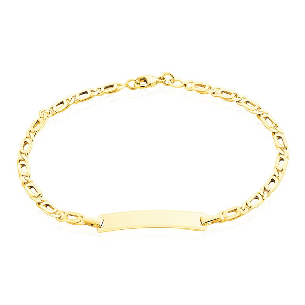 Bracelet Identité Evi Or Jaune - Bracelets Communion Enfant   Histoire d'Or