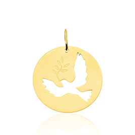 Pendentif Anny Colombe Or Jaune - Pendentifs Unisexe | Histoire d'Or