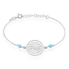 Bracelet Anoki Argent Blanc - Bracelets fantaisie Femme | Histoire d'Or