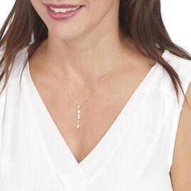Collier Wassyla Or Jaune Oxyde De Zirconium - Bijoux Femme | Histoire d'Or