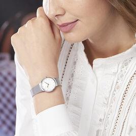 Montre Codhor Fleur Blanc - Montres classiques Femme | Histoire d'Or