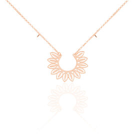 Collier Ombelline Argent Rose - Colliers fantaisie Femme | Histoire d'Or