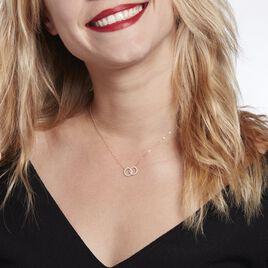 Collier Flaire Or Jaune Oxyde De Zirconium - Bijoux Femme | Histoire d'Or