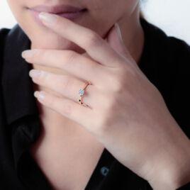 Bague Solitaire Victoria Or Jaune Diamant - Bagues solitaires Femme | Histoire d'Or