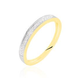 Alliance Siranna Or Jaune Diamant - Alliances Femme   Histoire d'Or