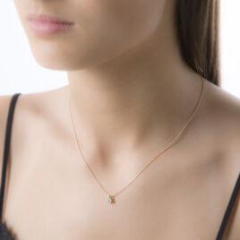 Collier Munevver Or Jaune Diamant - Bijoux Femme | Histoire d'Or