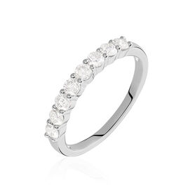 Alliance Eloise Or Blanc Diamant - Alliances Femme | Histoire d'Or