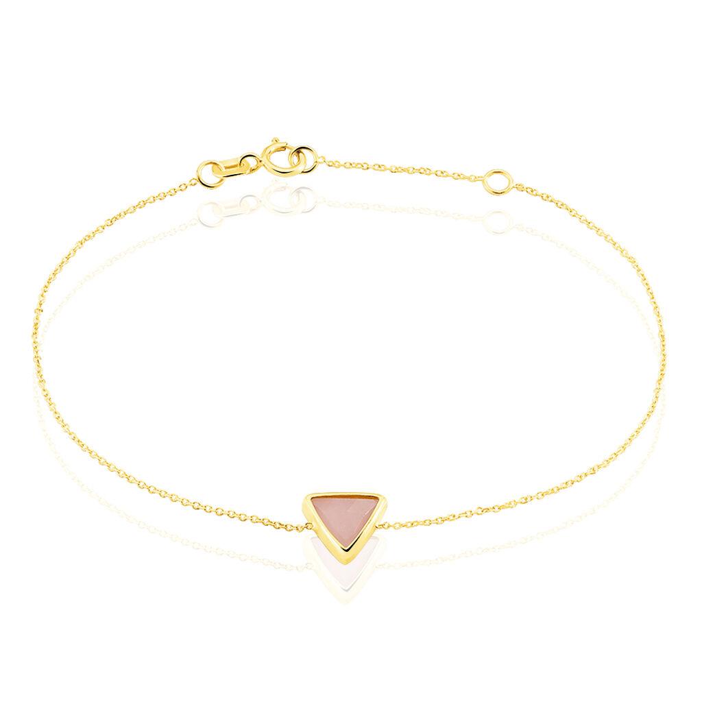 Bracelet Juliete Or Jaune Calcedoine - Bijoux Femme | Histoire d'Or