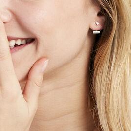 Bijoux D'oreilles Estela Or Blanc - Ear cuffs Femme   Histoire d'Or