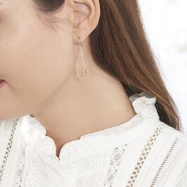 Boucles D'oreilles Pendantes Ellda Or Jaune - Boucles d'oreilles pendantes Femme | Histoire d'Or