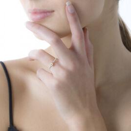 Bague Solitaire Servana Or Jaune Oxyde De Zirconium - Bagues solitaires Femme | Histoire d'Or
