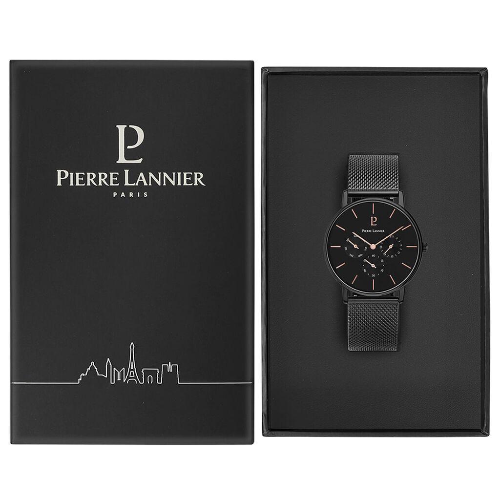 Montre Pierre Lannier Collection Cityline Noir - Montres tendances Homme | Histoire d'Or