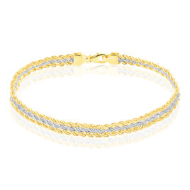 Bracelet Or Bicolore  - Bijoux Femme | Histoire d'Or