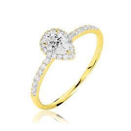 Bague Solitaire Tatiana Or Jaune Diamant - Bagues avec pierre Femme | Histoire d'Or