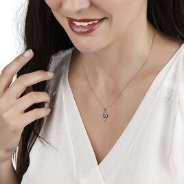 Collier Sagesse Or Jaune Saphir Et Diamant - Bijoux Femme | Histoire d'Or