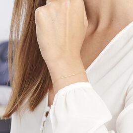Bracelet Chloee Or Jaune - Bijoux Femme | Histoire d'Or