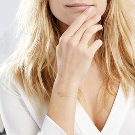 Bracelet Edelatis Or Jaune - Bracelets Coeur Femme | Histoire d'Or