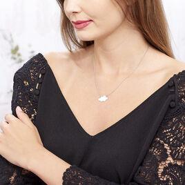 Collier Nuagie Argent Blanc - Colliers fantaisie Femme | Histoire d'Or