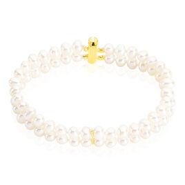 Bracelet Silene Or Jaune Perle De Culture - Bijoux Femme | Histoire d'Or