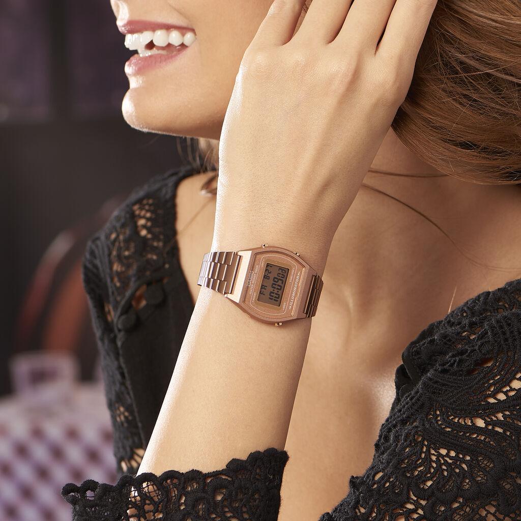 Montre Casio Collection Vintage Rose - Montres Femme   Histoire d'Or