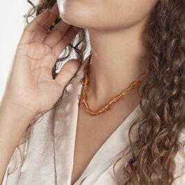 Collier Cososus Ambre - Bijoux Femme | Histoire d'Or