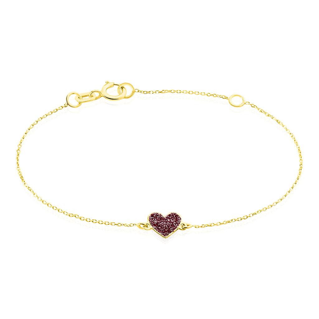 Bracelet Cerine Coeur Or Jaune - Bracelets Coeur Enfant | Histoire d'Or