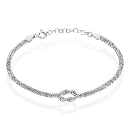 Bracelet Firouz Argent Blanc - Bracelets chaîne Femme | Histoire d'Or