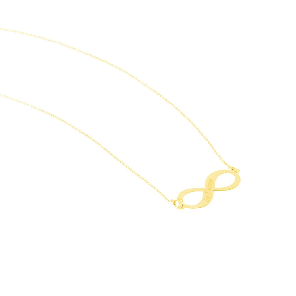 Collier Armen Or Jaune - Colliers Infini Femme   Histoire d'Or