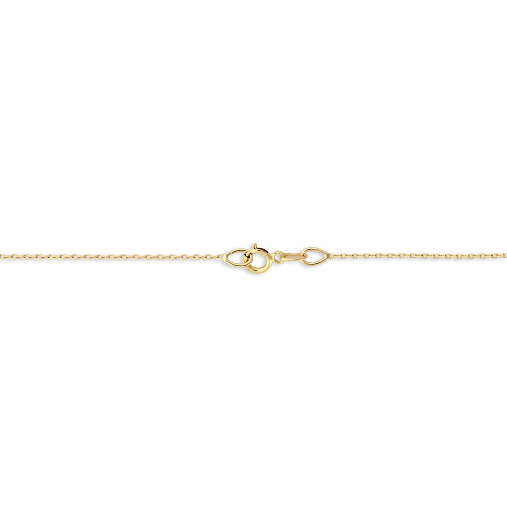 Collier Osanna Or Jaune Diamant