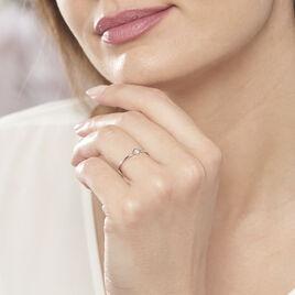 Bague De Phalange Elane Argent Blanc Oxyde De Zirconium - Bagues solitaires Femme | Histoire d'Or