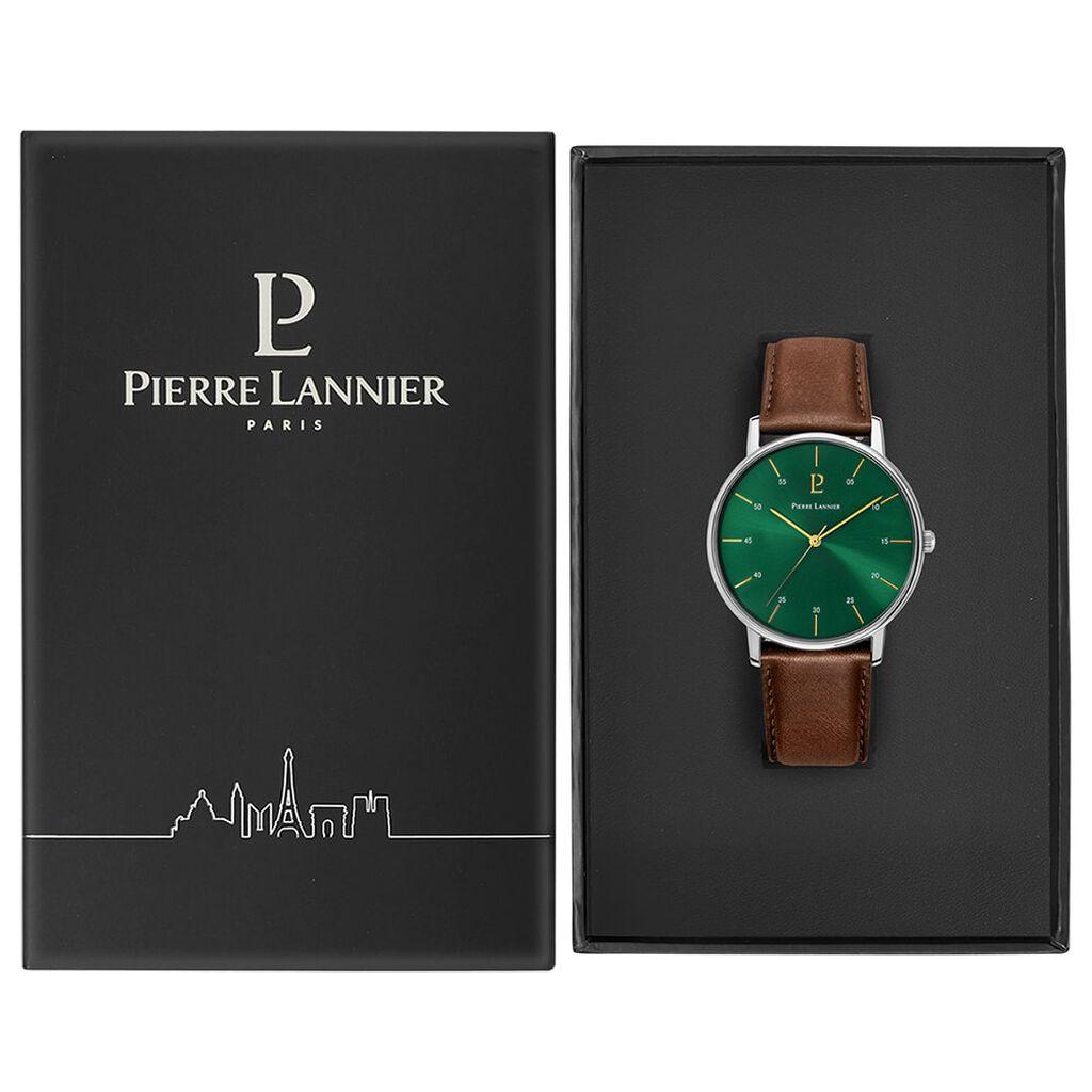 Montre Pierre Lannier Collection Cityline Vert - Montres tendances Homme   Histoire d'Or