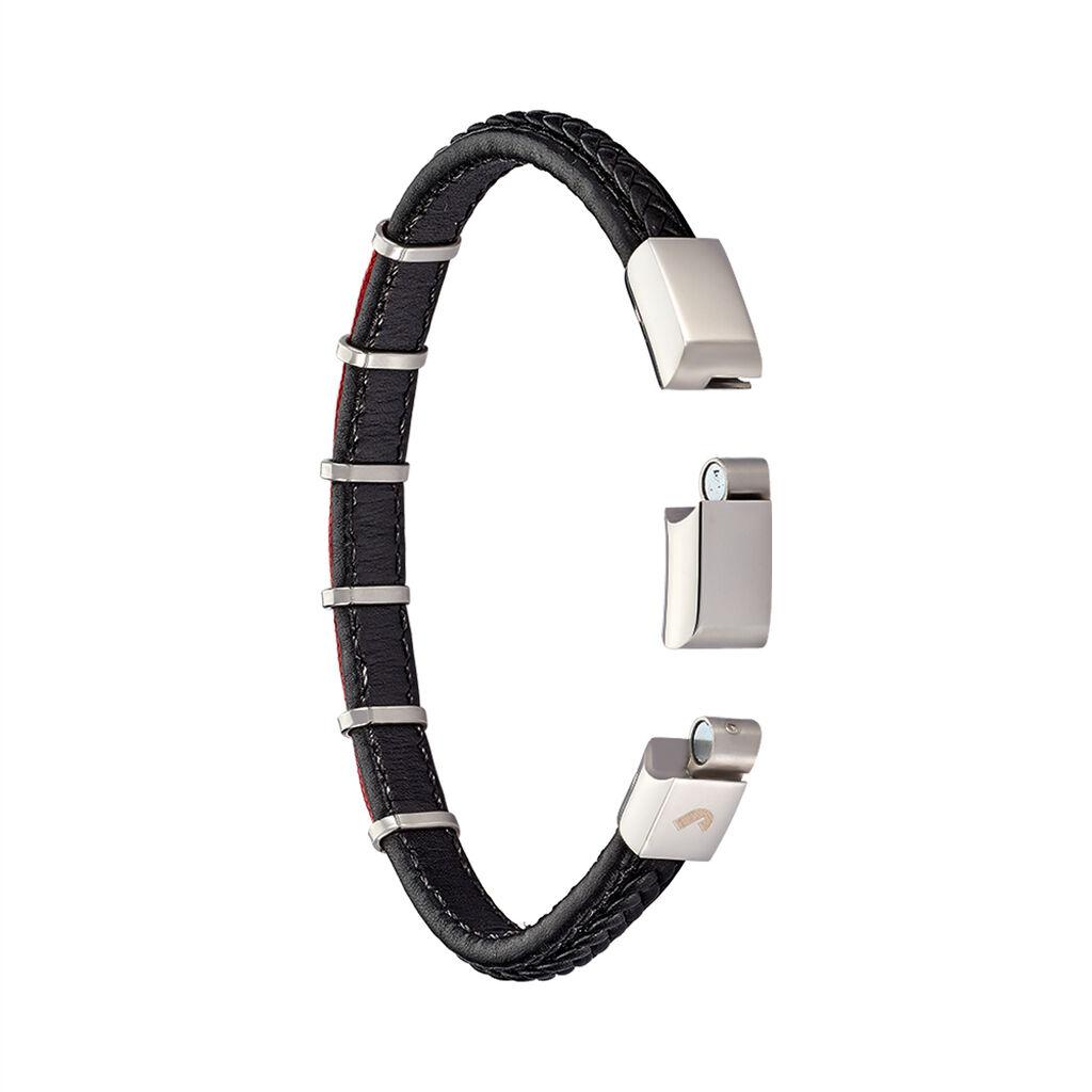 Bracelet Jourdan Kessel Acier Blanc - Bracelets fantaisie Homme | Histoire d'Or