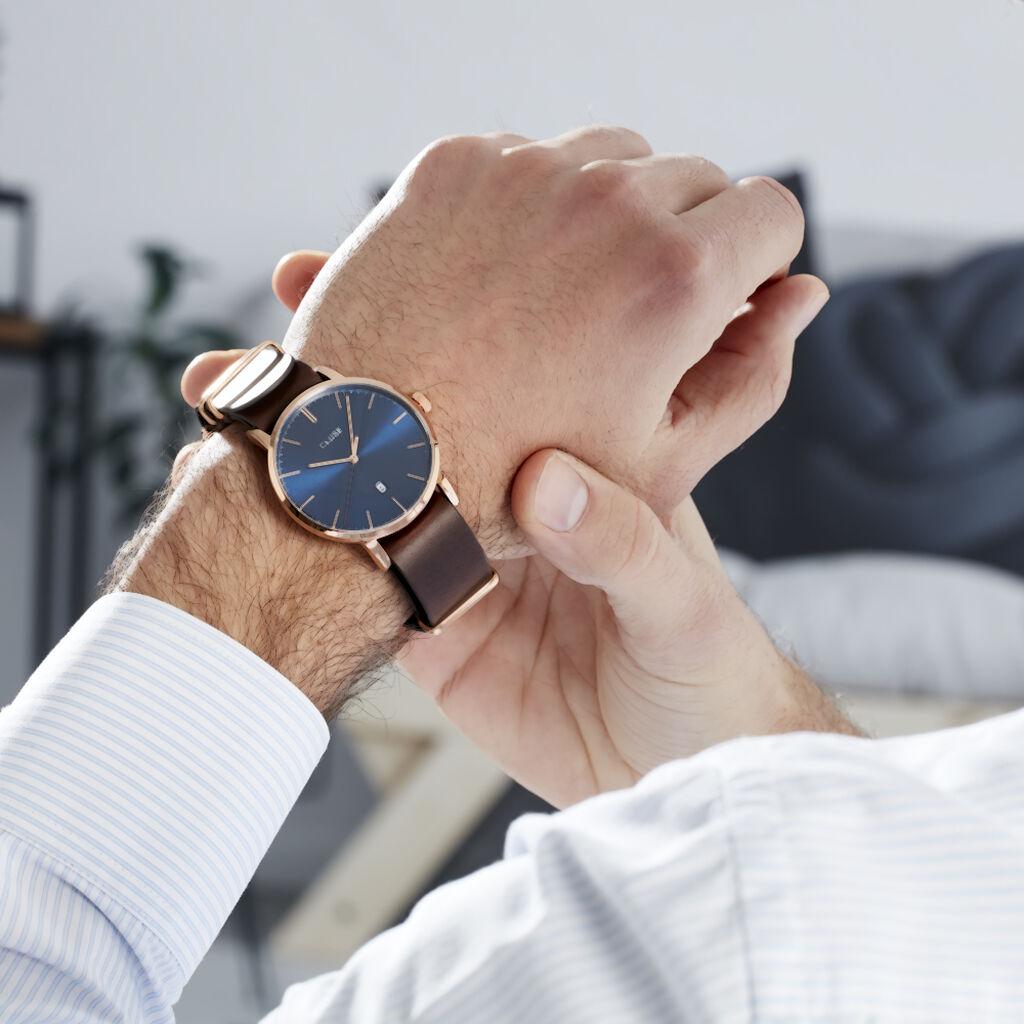 Montre Cluse Aravis Bleu - Montres Homme | Histoire d'Or