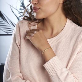 Bracelet Izaro Maille Flex Or Jaune - Bijoux Femme | Histoire d'Or