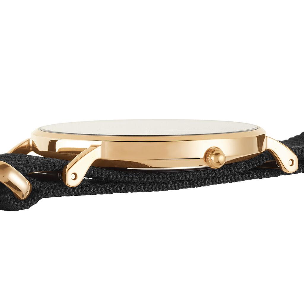 Montre Daniel Wellington Classic Cornwall Noir - Montres tendances Femme   Histoire d'Or