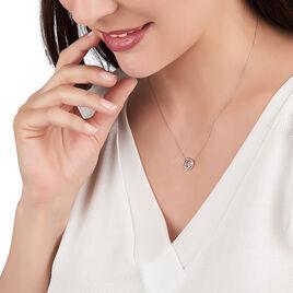 Collier Absolu Or Rose Et Diamants 42cm - Bijoux Femme | Histoire d'Or