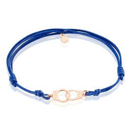 Bracelet Kim Argent Rose - Bracelets cordon Femme | Histoire d'Or