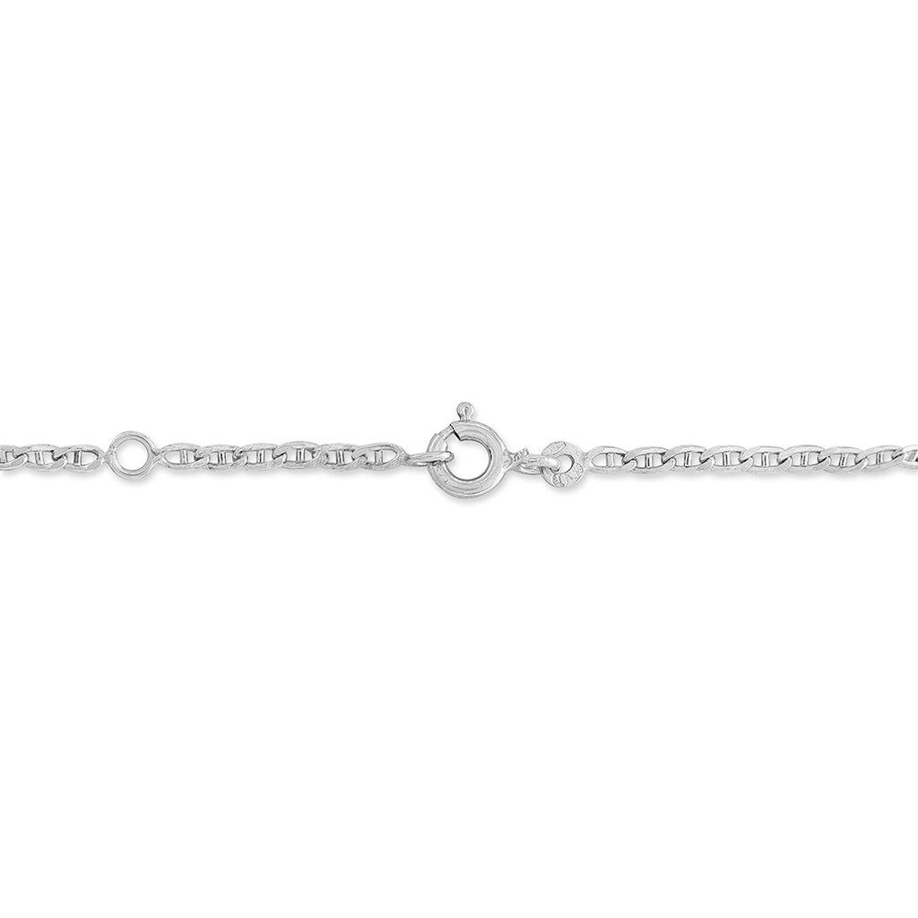 Bracelet Identité Fanelia Or Blanc - Bracelets Communion Enfant | Histoire d'Or