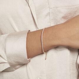 Bracelet Plaqué Or Zoelia Oxydes De Zirconium - Bijoux Femme | Histoire d'Or