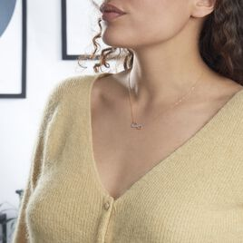 Collier Maryeme Infini Glitter Or Jaune - Colliers Infini Femme   Histoire d'Or