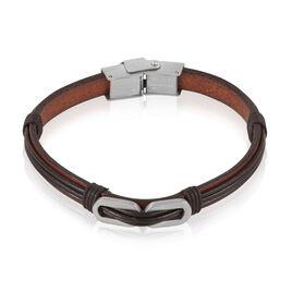 Bracelet Tristan Acier Blanc - Bracelets fantaisie Homme   Histoire d'Or