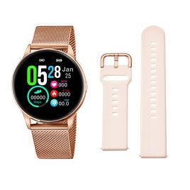 Coffret De Montre Lotus Smart Watch Noir - Montres connectées Femme | Histoire d'Or