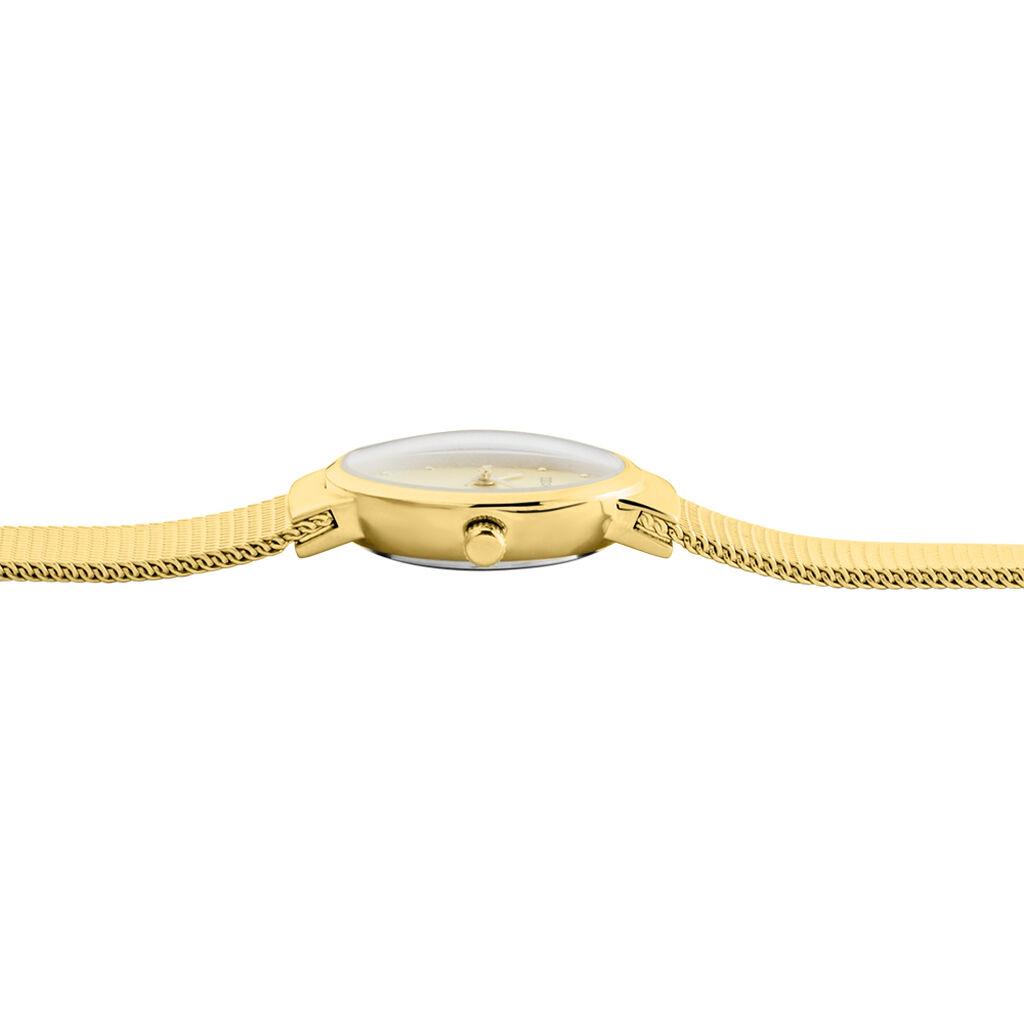 Montre Codhor Fleur Champagne - Montres classiques Femme   Histoire d'Or