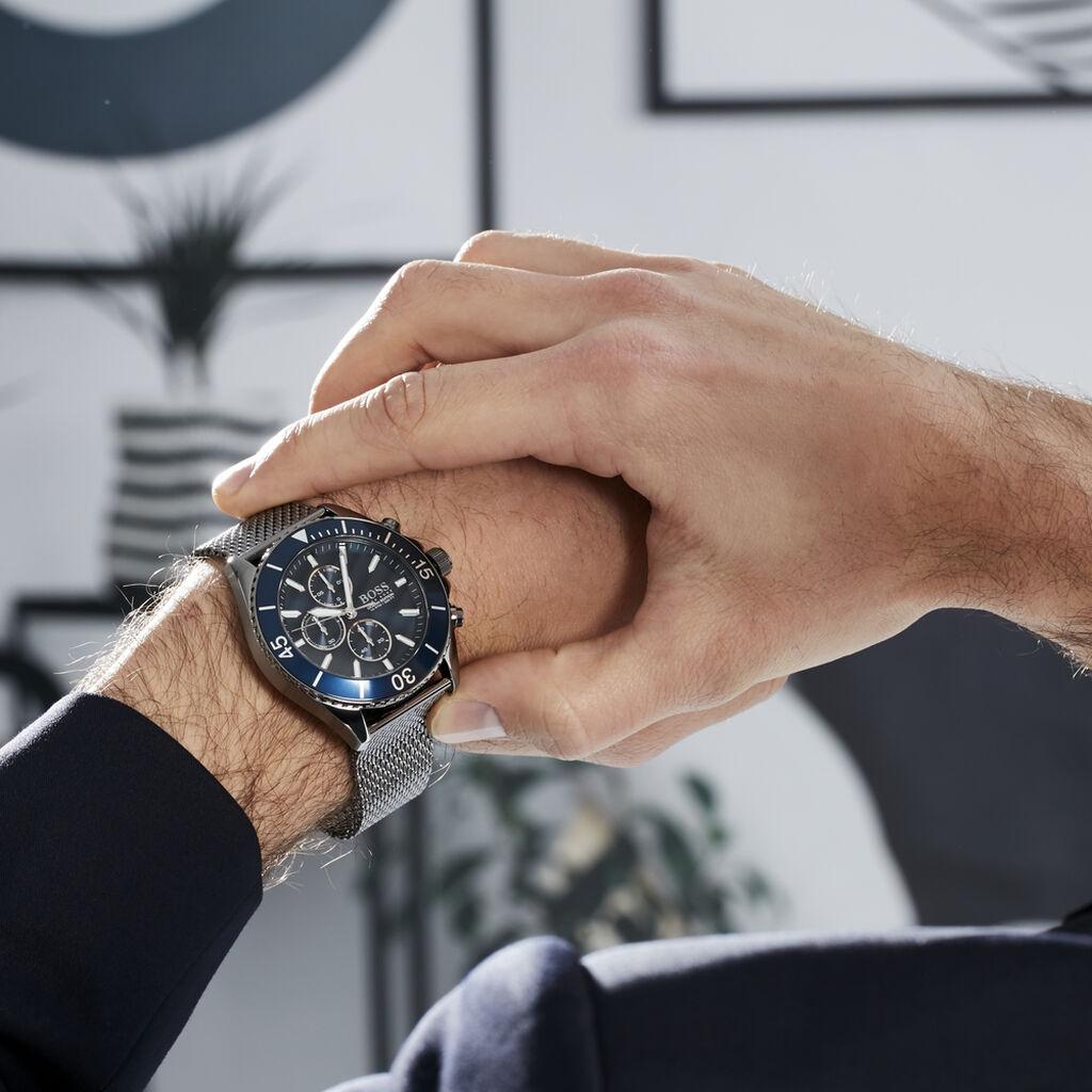 Montre Boss Ocean Edition Bleu - Montres tendances Homme   Histoire d'Or