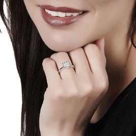 Bague Solitaire Dream Or Blanc Diamant - Bagues solitaires Femme   Histoire d'Or