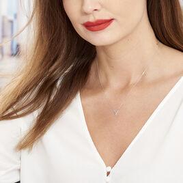 Collier Celene Or Blanc - Bijoux Femme | Histoire d'Or