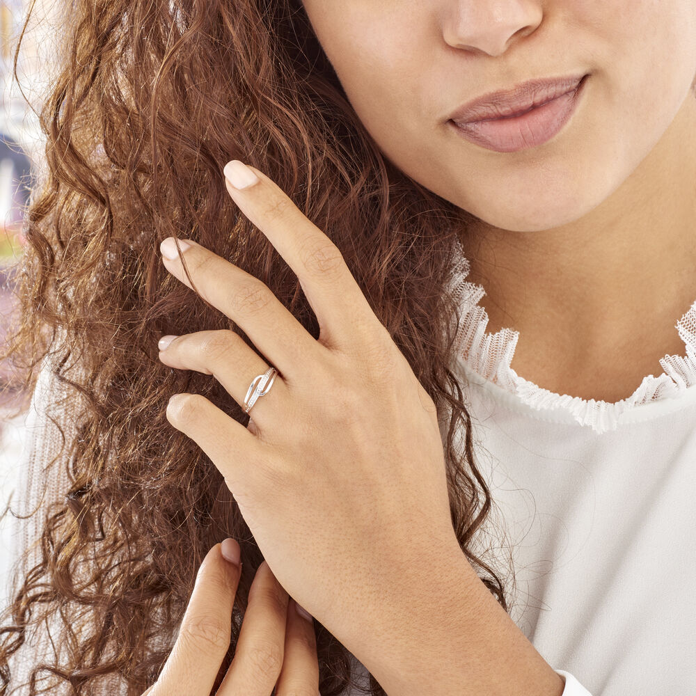 Bague Solena Or Blanc Diamant de modèles