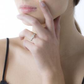 Bague Solitaire Dallal Or Blanc Diamant - Bagues solitaires Femme | Histoire d'Or