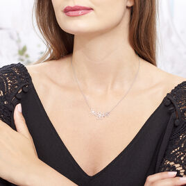 Collier Lucrezia Argent Blanc - Colliers fantaisie Femme | Histoire d'Or